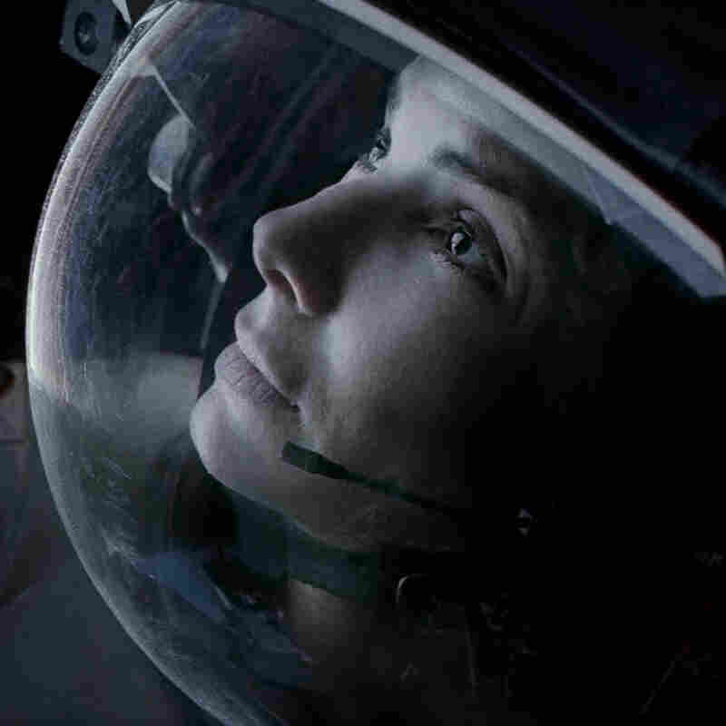 Bullock's mission scientist  is a dubiously confident space traveler even before she's sent reeling toward the abyss by debris from an orbital mishap.