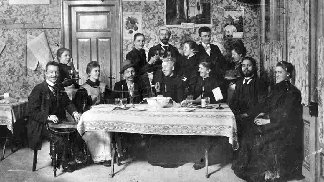 This gang founded Zurich's Vegetarians' Home and Teetotaller Cafe in 1898. Ambrosius Hiltl bought the joint and changed the name in 1903.