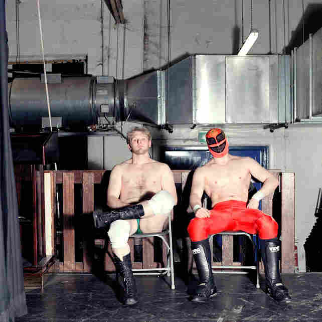 From the series Wrestlers.
