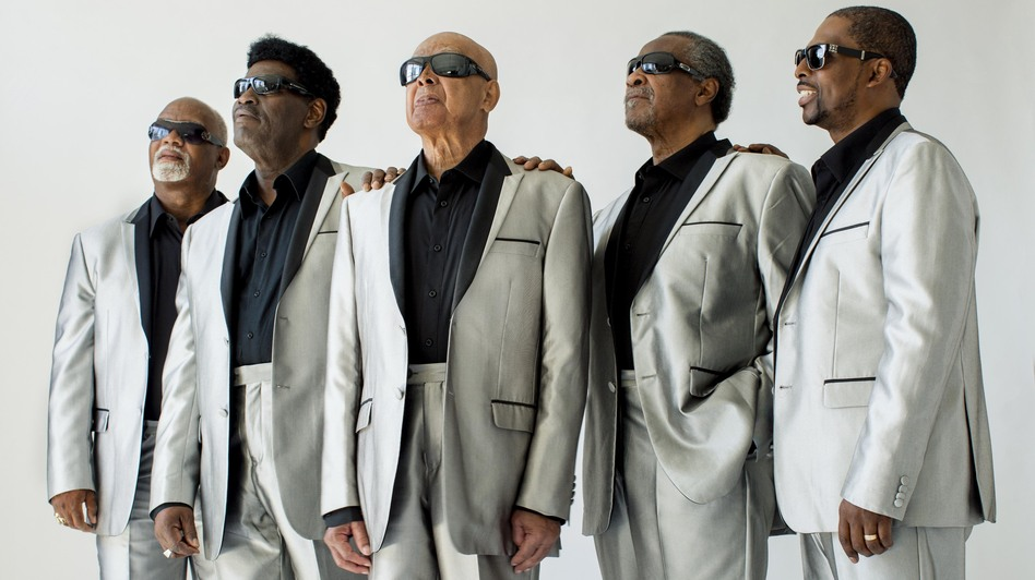 I'll Find a Way is the latest album in The Blind Boys of Alabama's seven-decade run. Left to right: Ricky McKinnie, Paul Beasley, Jimmy Carter, Ben Moore, Joey Williams. (Courtesy of the artist)