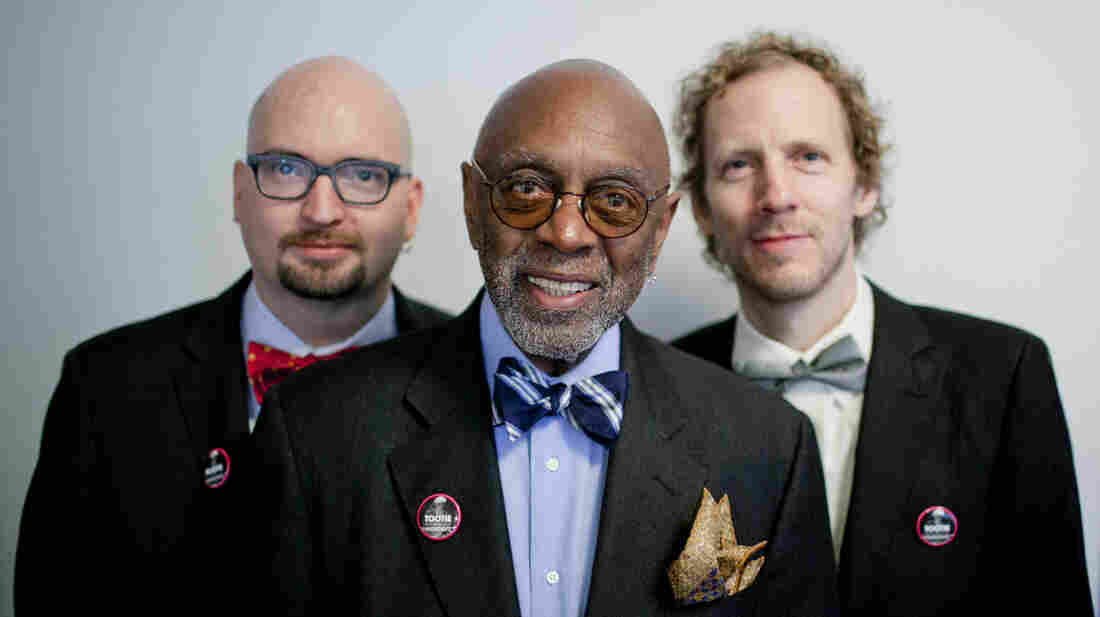 "From left: pianist Ethan Iverson, drummer Albert ""Tootie"" Heath and bassist Ben Street."