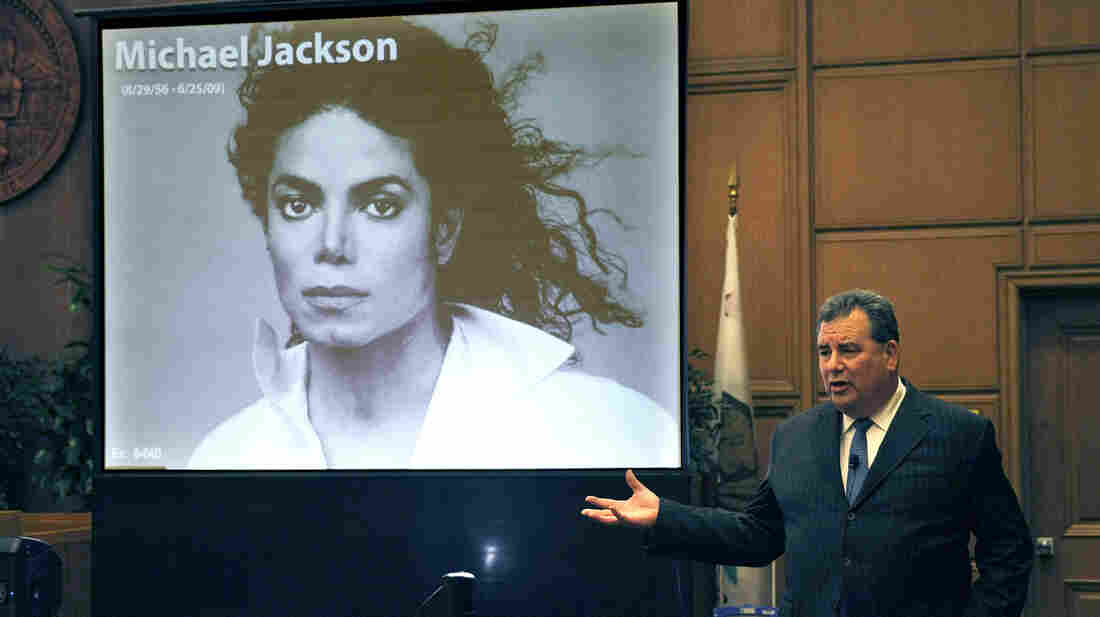 Brian Panish, attorney for the Michael Jackson family, delivers his closing argument to jurors in the Michael Jackson lawsuit against concert promoter AEG Live last week in Los Angeles.
