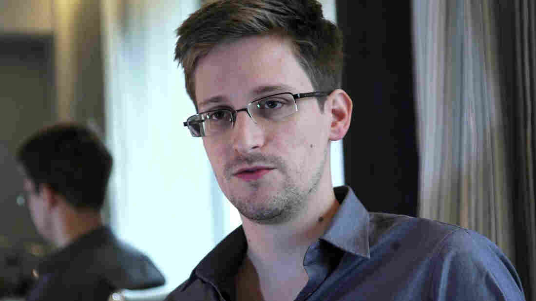 Edward Snowden, seen here in a photo provided by The Guardian, is a finalist for the Sakharov Prize. Earlier this year, Snowden leaked classified information about secret U.S. surveillance programs.