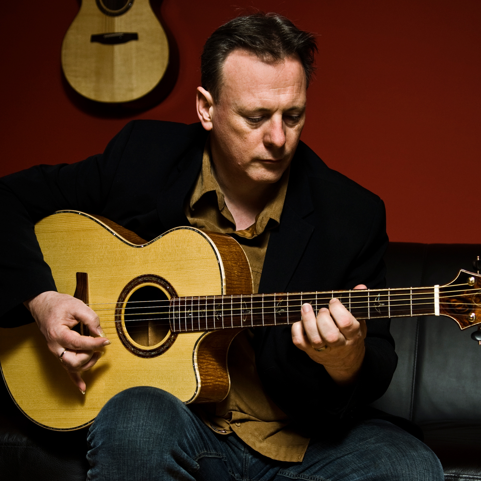 Classical guitarist Tony McManus.