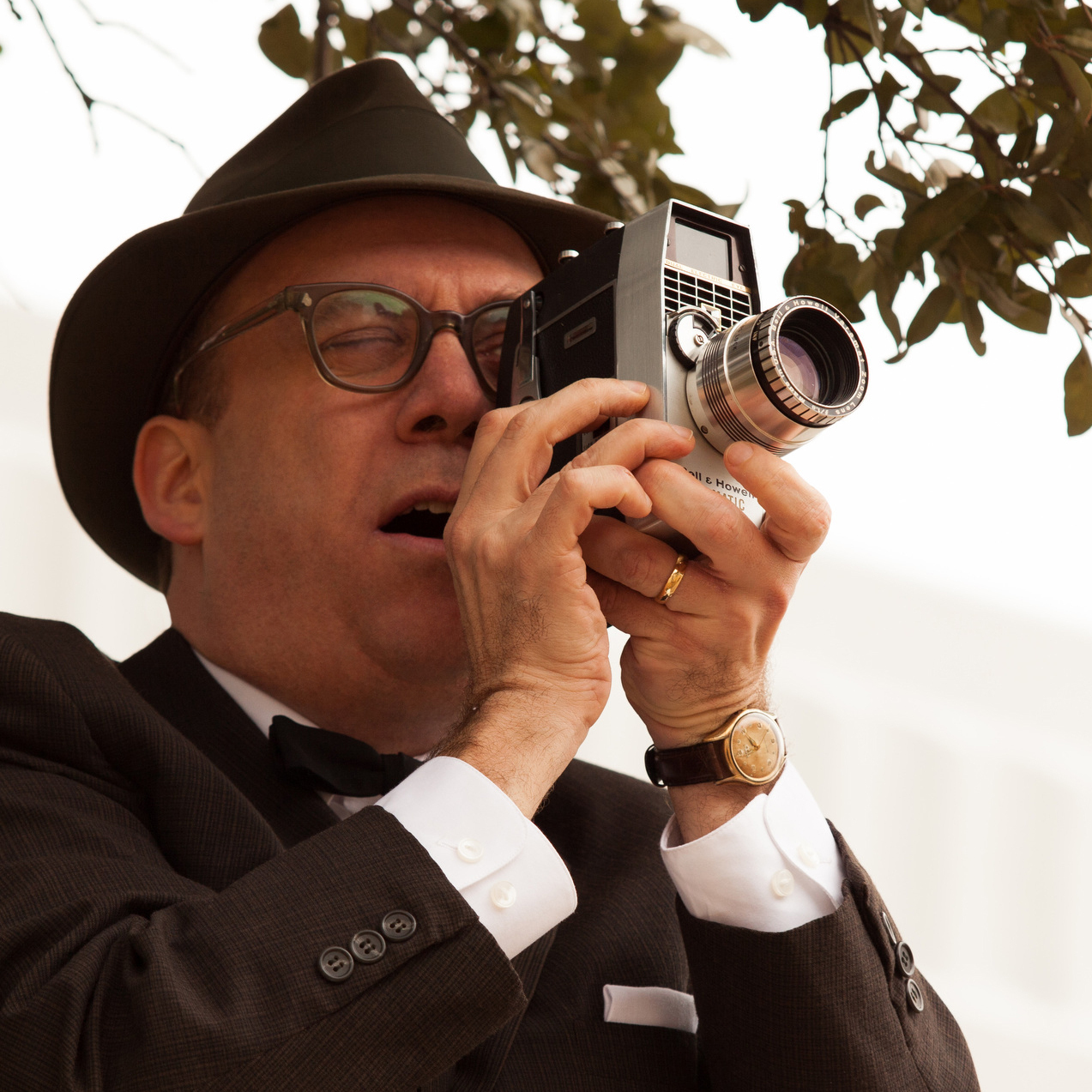 Paul Giamatti plays Abraham Zapruder, who caught the assassination on film and became wrapped up in the security and media frenzy.