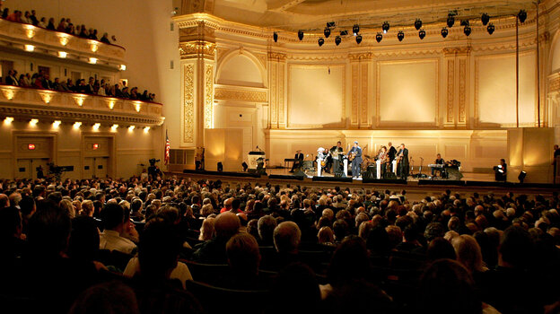 In November 2004, the Grand Ole Opry came to Carnegie Hall.