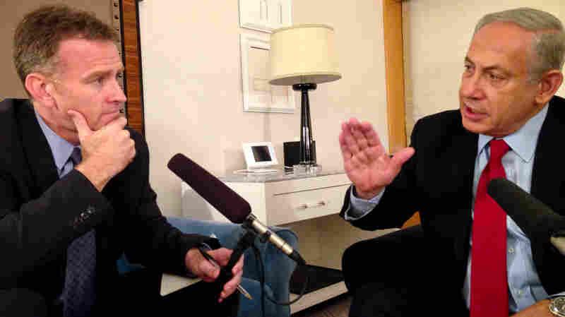 NPR's Steve Inskeep speaks with Israeli Prime Minister Benjamin Netanyahu on Thursday.