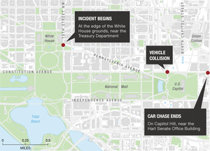 Suspect Dead Two Police Officers Injured In Chase At US Capitol - Us capitol grounds map
