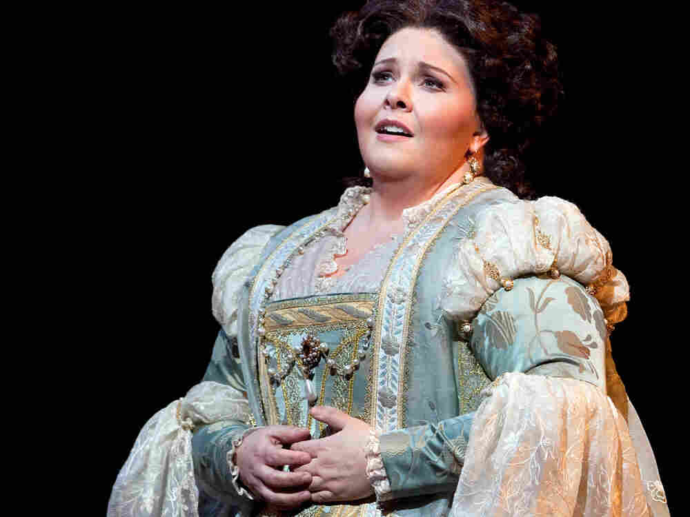 Soprano Angela Meade's career rocketed after she made her professional debut as Elvira in Verdi's Ernani at New York's Metropolitan Opera.