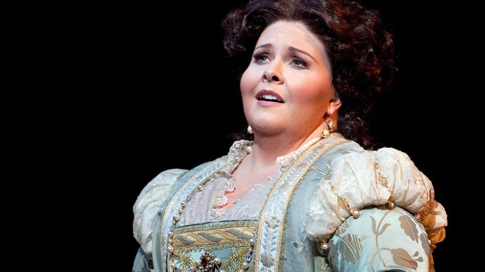 Soprano Angela Meade's career rocketed after she made her professional debut as Elvira in Verdi's Ernani at New York's Metropolitan Opera.
