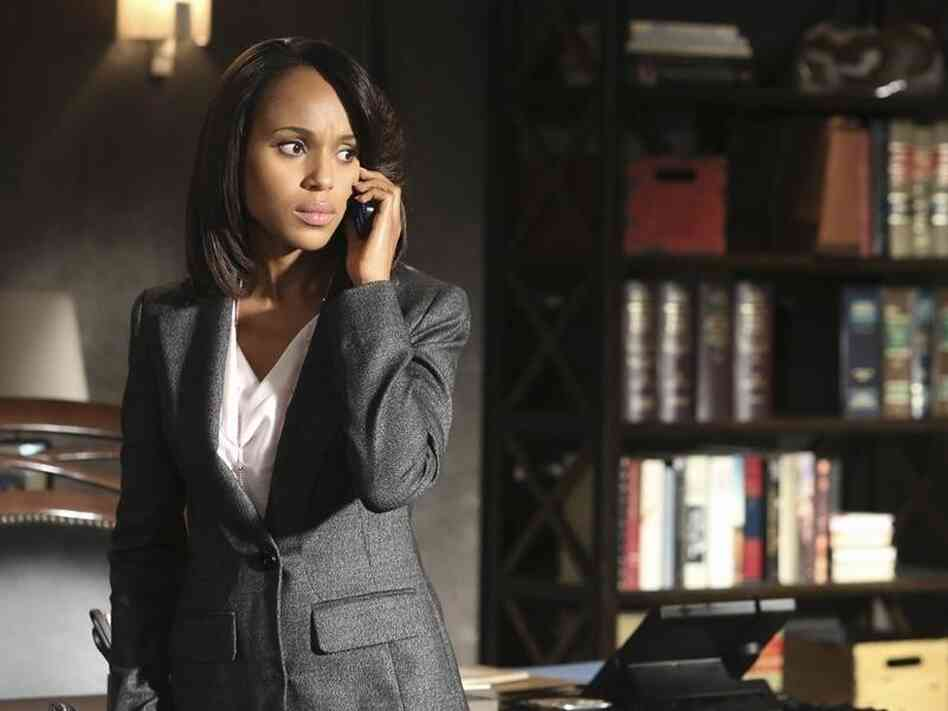 Kerry Washington (Emmy nominee!) plays Olivia Pope on Scandal.