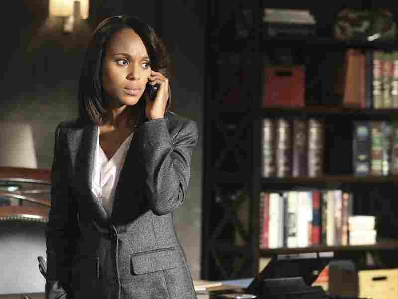 Kerry Washington (Emmy nominee!) plays Olivia Pope on Scandal.