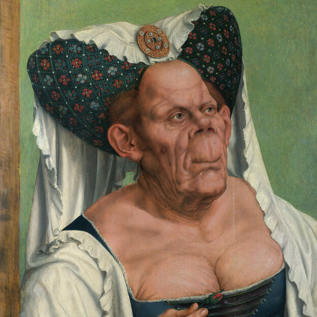 The Ugly Duchess by Quentin Massys, circa 1513.