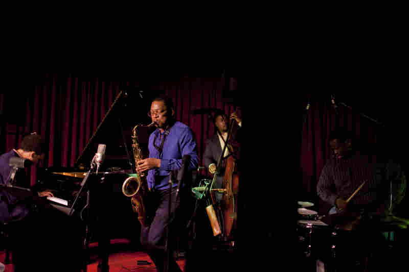 The Ravi Coltrane quartet.