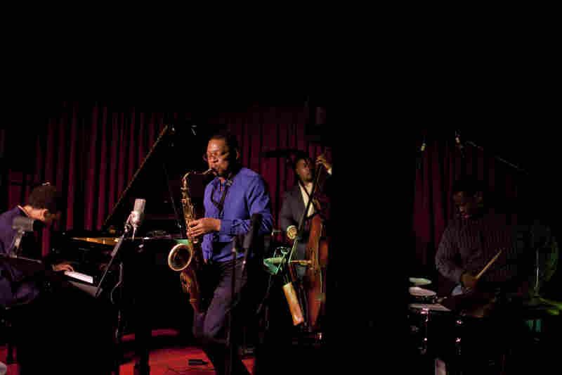 The Ravi Coltrane quartet.