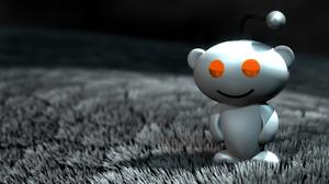 The Reddit mascot.
