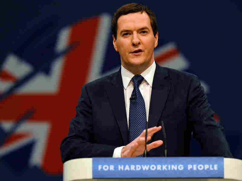 """No one will be ignored or left without help. But no one will get something for nothing,"" British Chancellor of the Exchequer George Osborne told the Conservative Party's annual conference. ""Because a fair welfare system is fair to those who need it and fair to those who pay for it, too."""