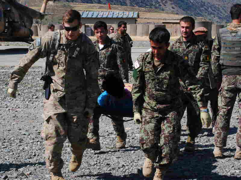 As Afghan forces take on more fighting and more casualties, the Afghan National Army has been struggling with a shortage of doctors.
