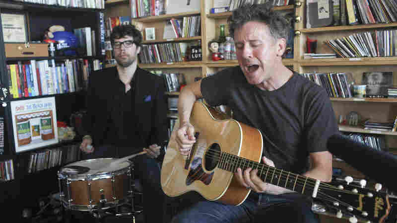 Superchunk performs a Tiny Desk Concert on Sept. 30, 2013.