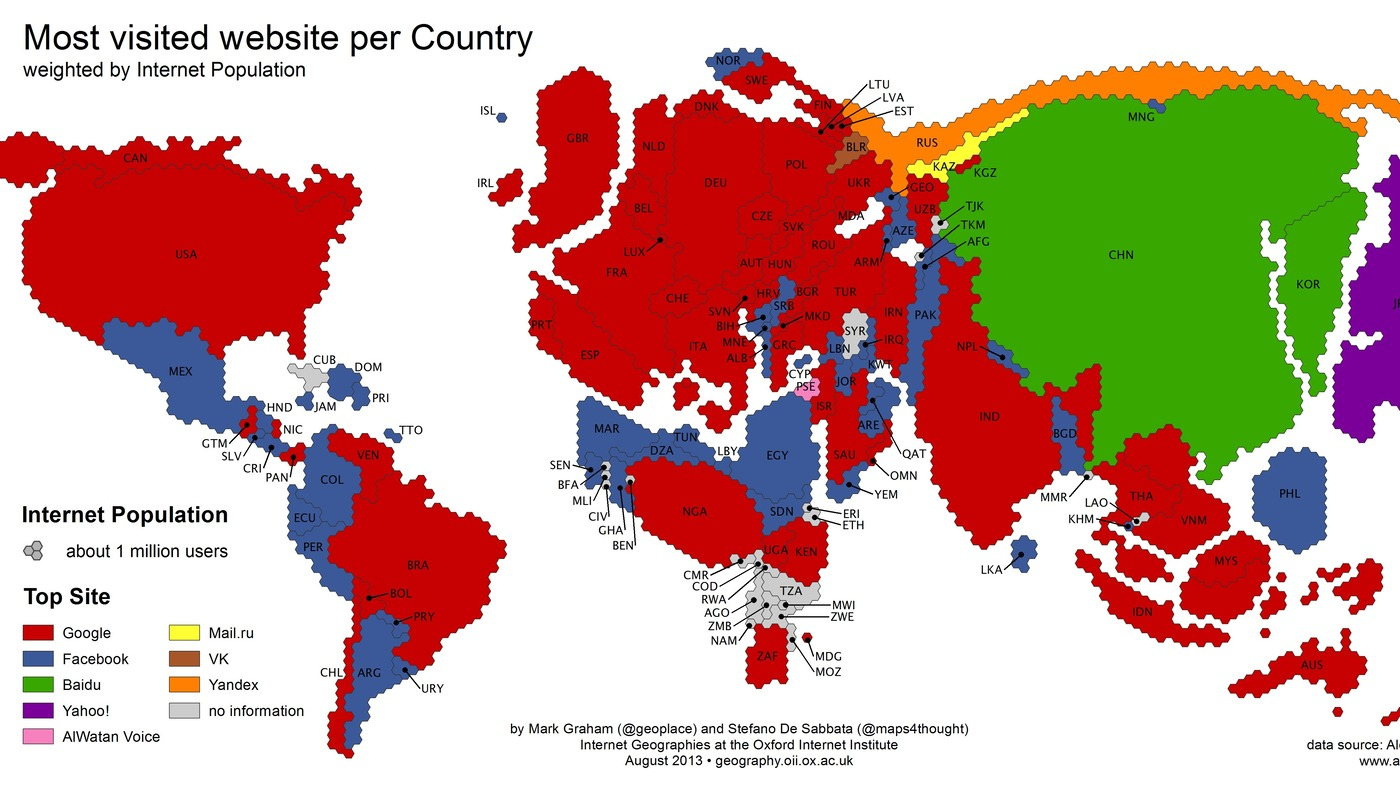 Maps npr google vs facebook a map of global conquest gumiabroncs Choice Image