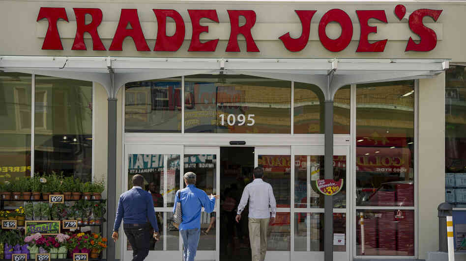 The specialty grocer Trader Joe's says next year it will end its policy of offering health benefits for part-time workers. Instead, the store will o