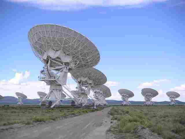 The Very Large Array in Socorro, N.M.