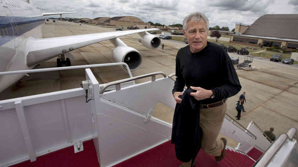 Secretary of Defense Chuck Hagel is