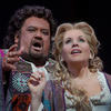 Johan Botha as the title character and Renée Fleming as Desdemona in the Metropolitan Opera's fall 2012 run of Verdi's Otello.
