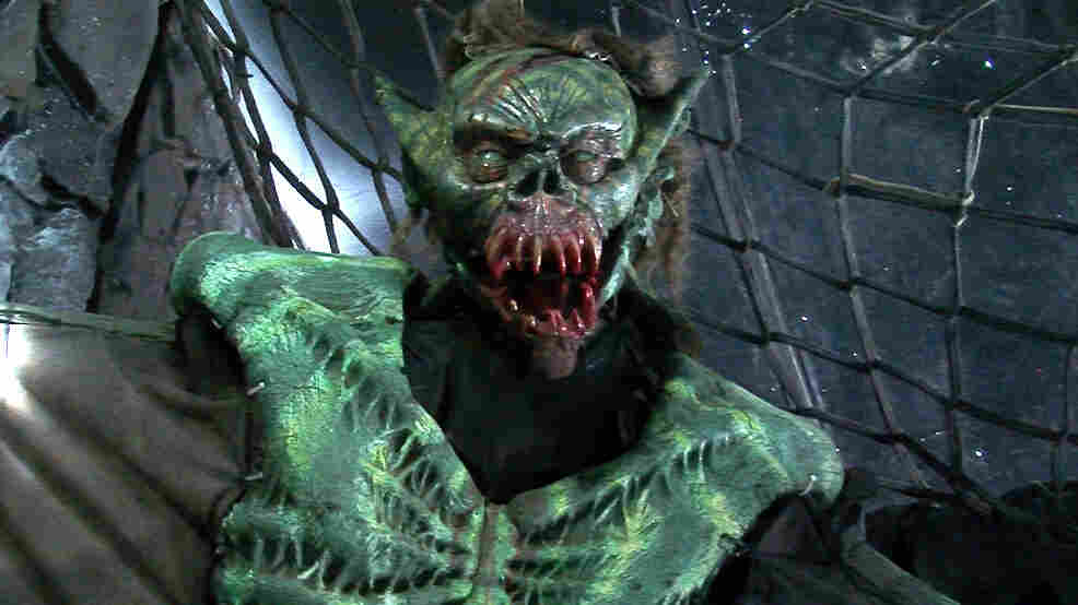 To get an interview at the Scream Zone in San Diego County, Calif., applicants have to get past a green demon first.