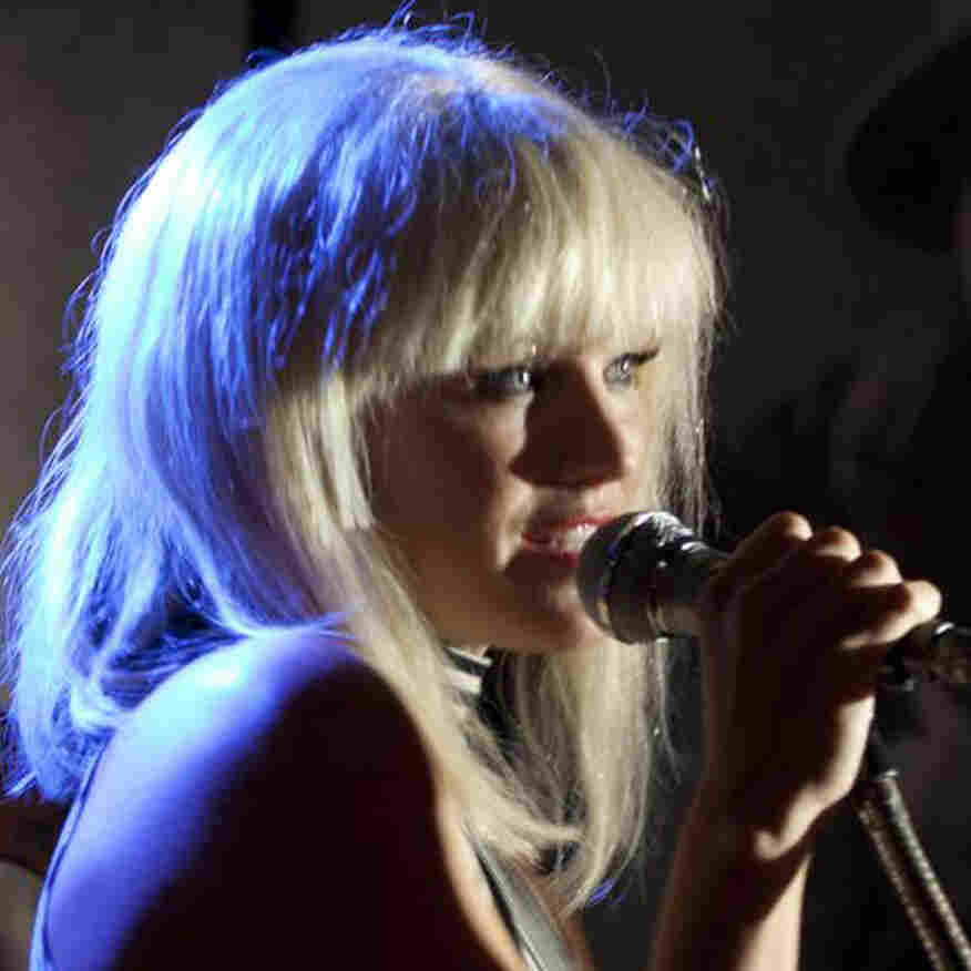 Malin Akerman, who plays Blondie singer Debbie Harry, is just one of many actors and musicians lip-syncing to the tracks of '70s punk legends in the loose but lively CBGB.