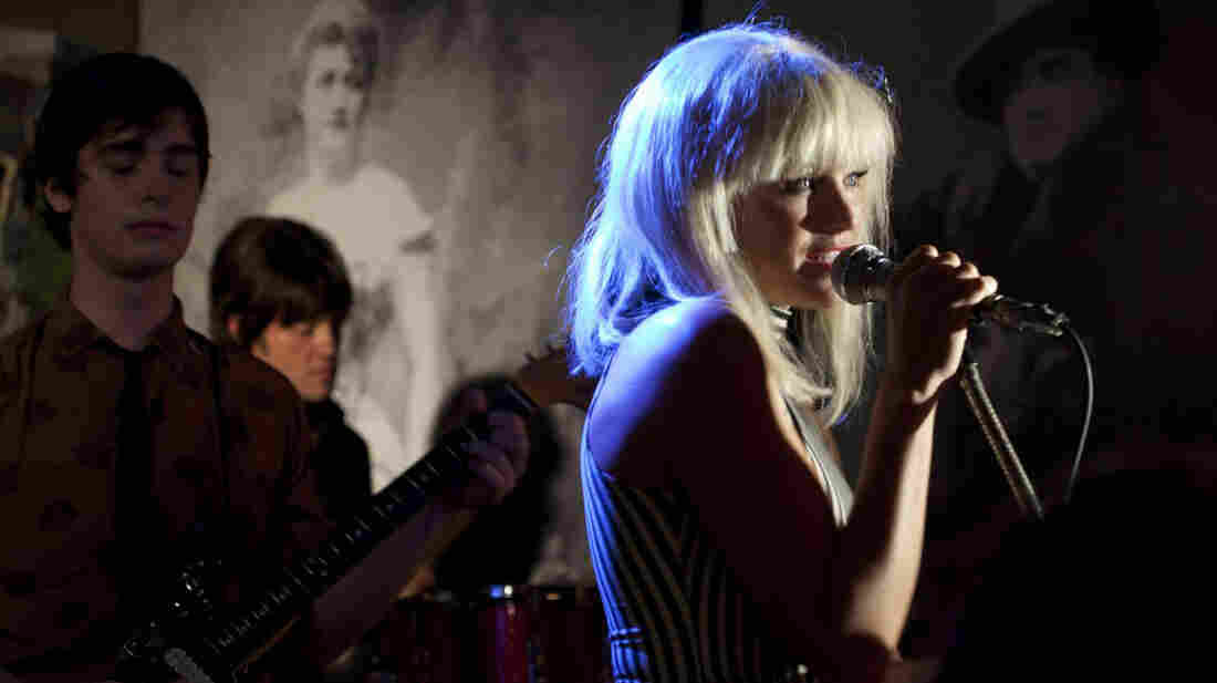 Malin Akerman, who plays Blondie singer Debbie Harry, is just one of many actors and musicians lip-syncing to the tracks of '70s