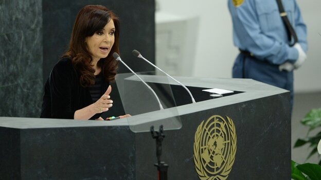 Argentina's President Cristina Fernandez de Kirchner will undergo surgery to relieve a hematoma on her brain Tues