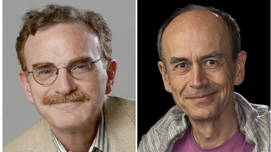 From left: Randy Schekman, Thomas Suedhof and James Rothman shared the 2013 Nobel Prize in Physiology or Medicine. (Reuters /Landov)