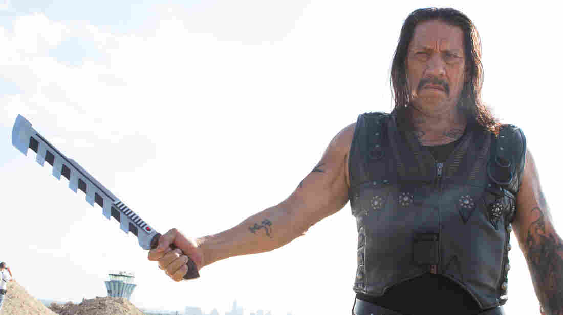 Everything is more exaggerated in this sequel to 2010's Machete, including Machete's (Danny Trejo) signature weapon, now serrated and electric.