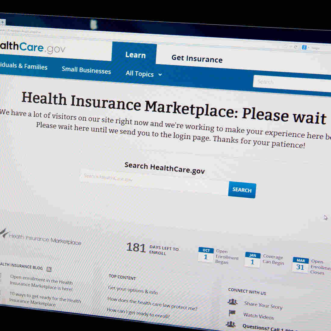 """We can do better,"" says White House spokesman Jay Carney, of healthcare.gov's ongoing software problems and delays."