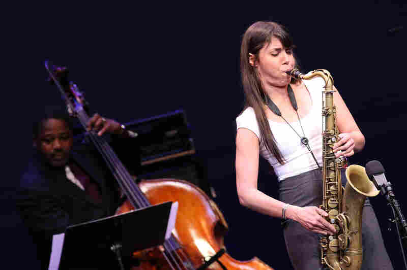 Backed by bassist Rodney Whitaker, Melissa Aldana gives the winning performance in the final round of the 2013 Thelonious Monk International Jazz Saxophone Competition.