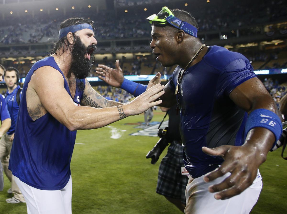 LA Dodgers' Spark Yasiel Puig Is Lightning Rod For ...