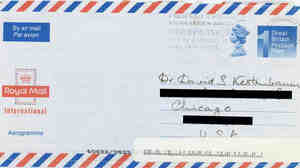 Letter from Peter Higgs