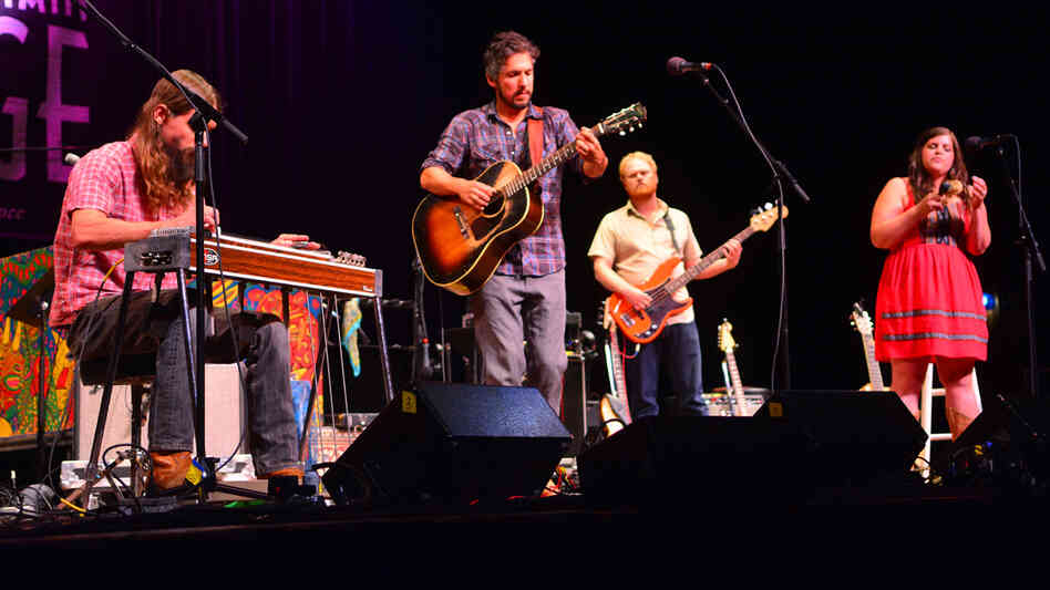 The Black Lillies perform on Mountain Stage.