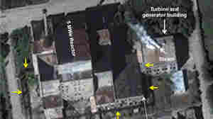 An Aug. 31 image from DigitalGlobe shows the 5-megawatt reactor at North Korea's Yongbyon facility. South Korean officials say they have confirmed that the nuclear reactor has been restarted.