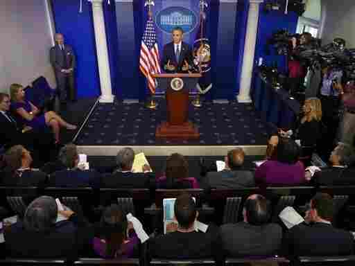 At a Tuesday news conference, President Obama underscore