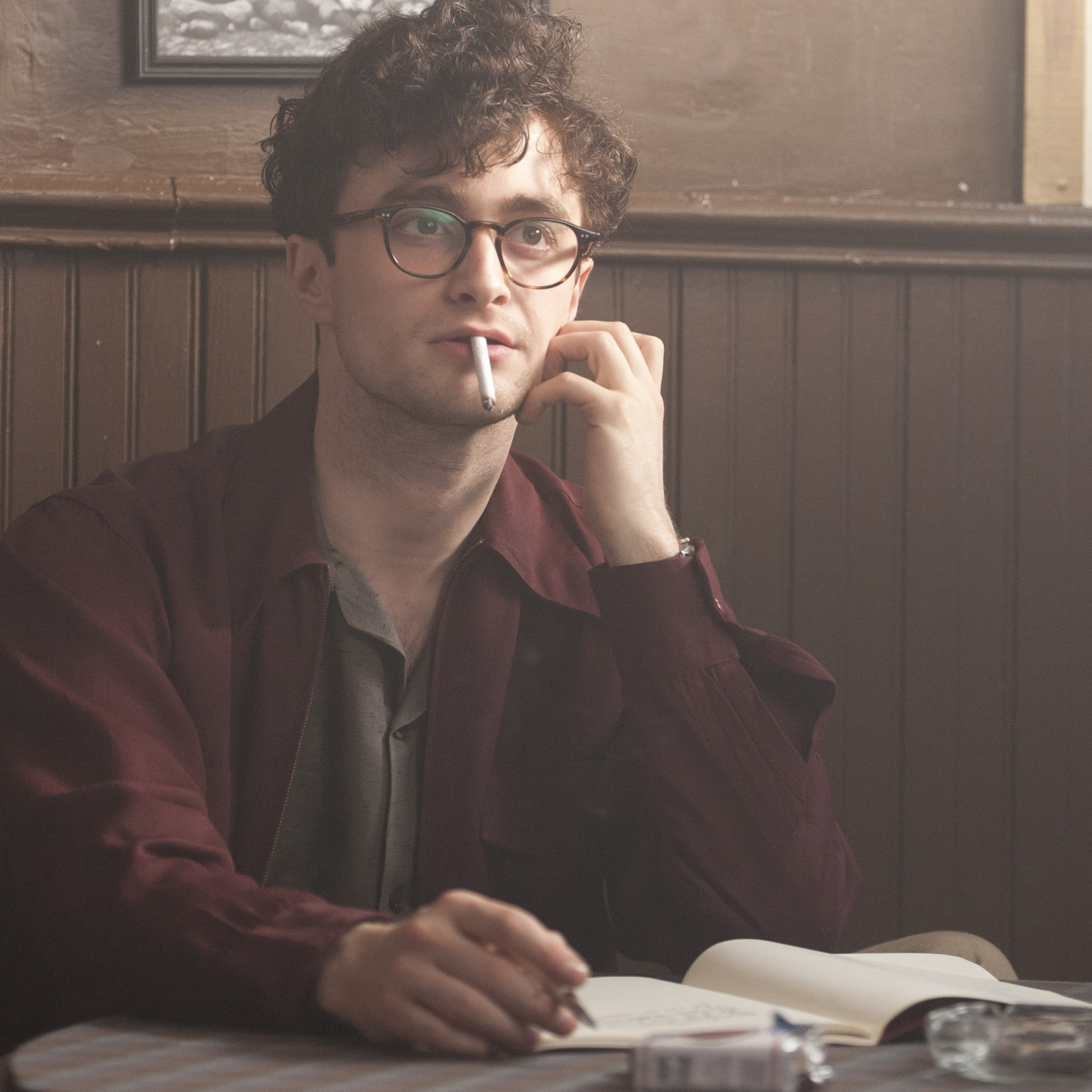 Radcliffe plays Allen Ginsberg in the new film Kill Your Darlings, about Ginsberg's friendship with Jack Kerouac -- and his entanglement with literary provocateur Lucien Carr.