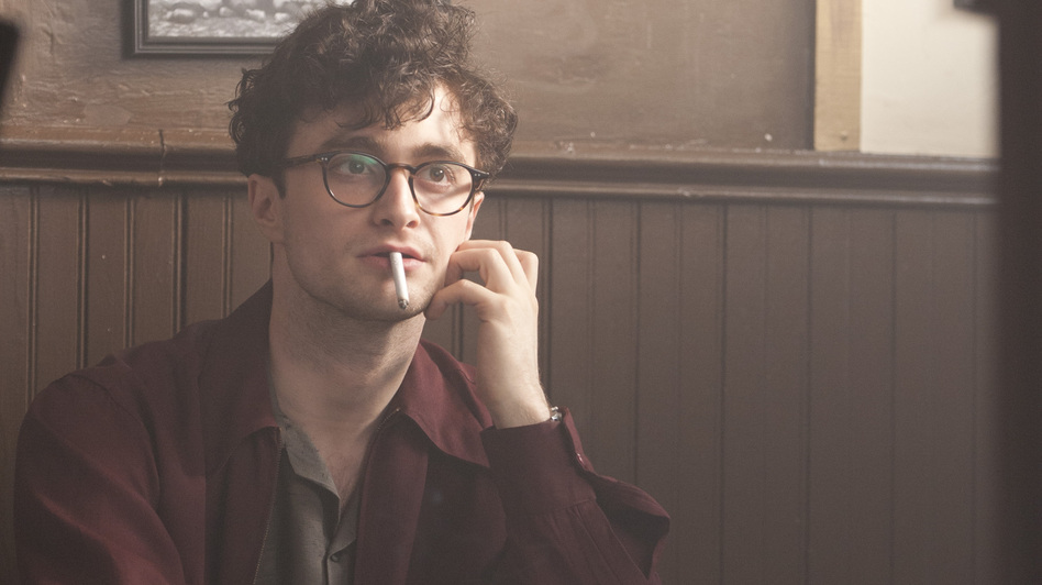Radcliffe plays Allen Ginsberg in the new film Kill Your Darlings, about Ginsberg's friendship with Jack Kerouac — and his entanglement with literary provocateur Lucien Carr. (Sony Pictures Classics)