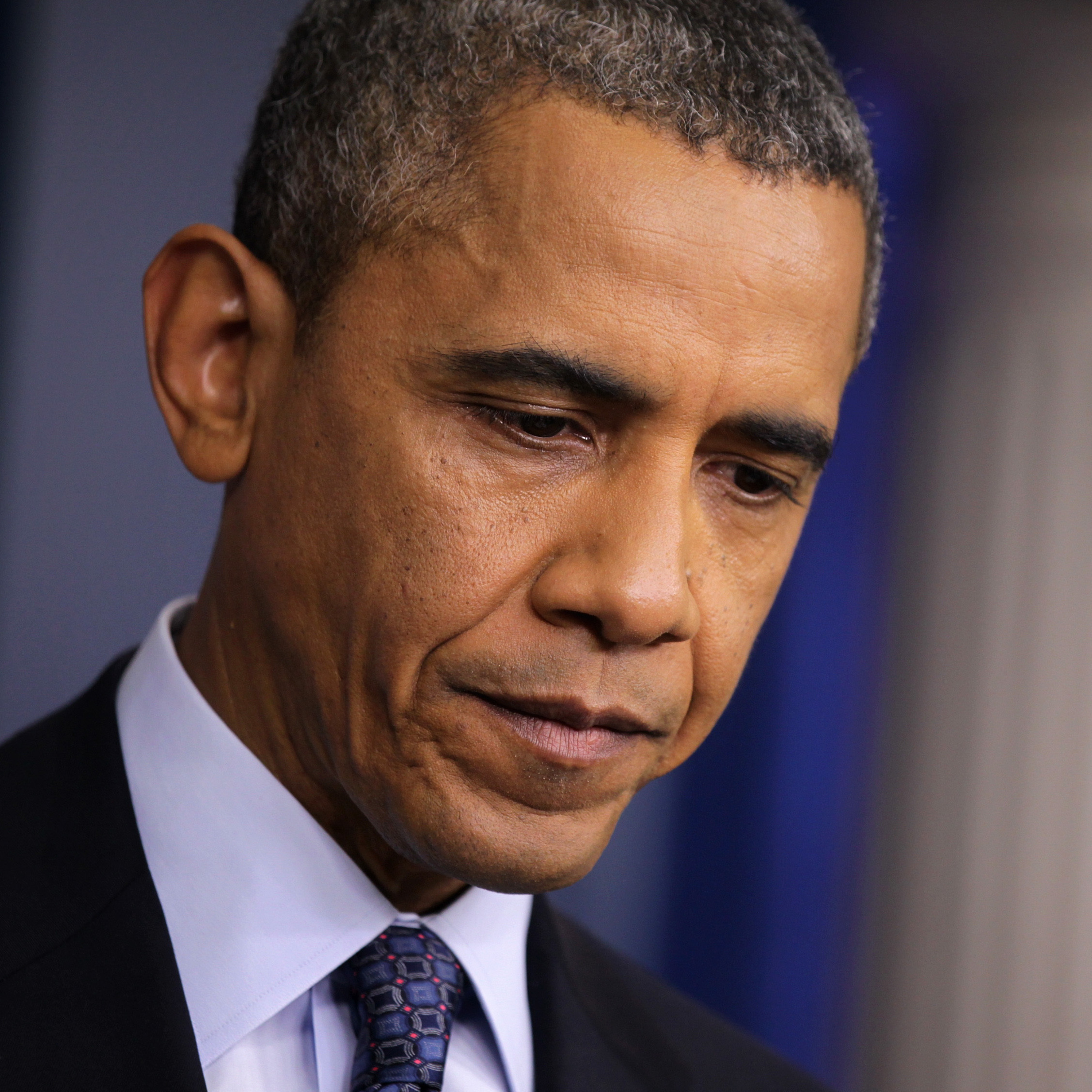 "President Obama at a news conference on Tuesday: Time to ""stop the excuses,"" he said."