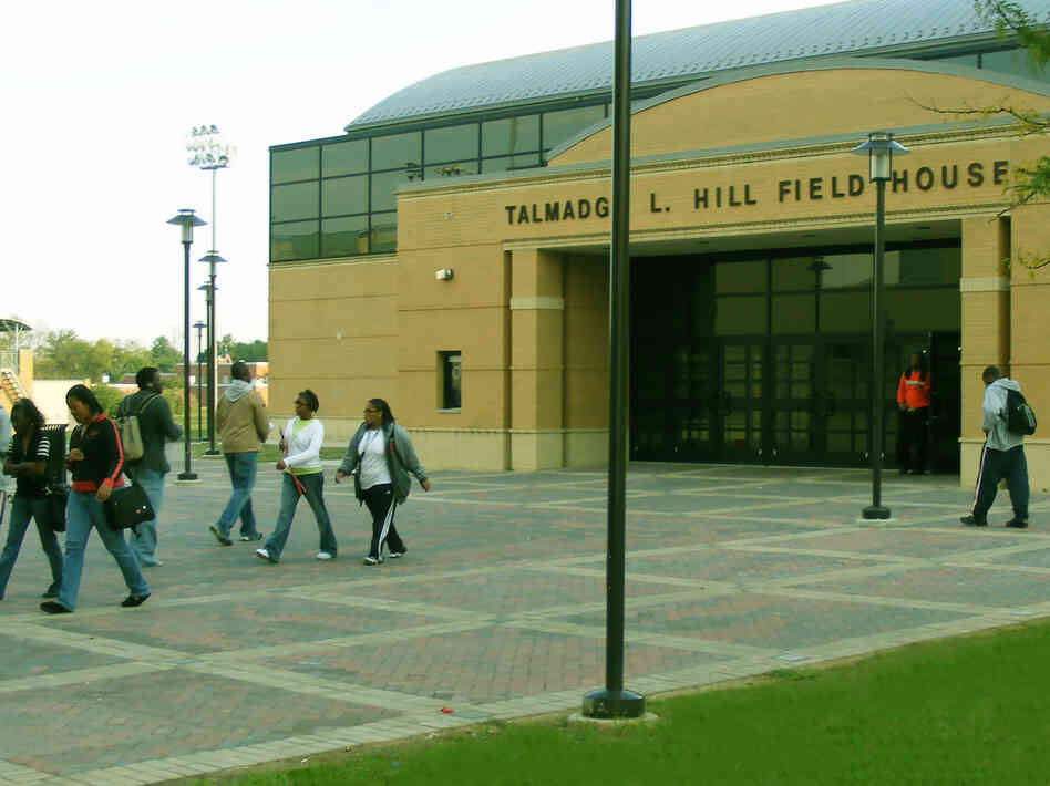 Morgan State University in Baltimore is one of the state's four historically black institutions.
