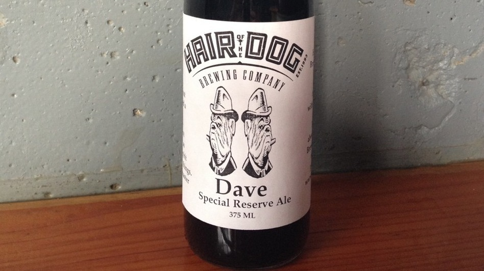 Hair of the Dog releases a few bottles of Dave a year. In September, the 12 bottles of Dave on sale for $2,000 apiece sold out within a few hours. (Courtesy of Alan Sprints)
