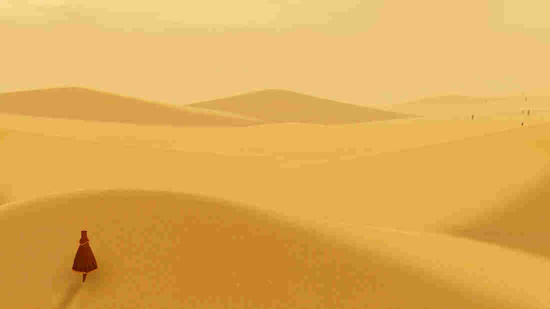 A Journey screenshot.