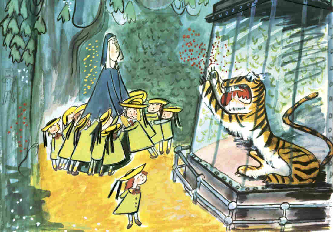 """""""To the tiger in the zoo, Madeline just said, 'Pooh-pooh.'"""""""