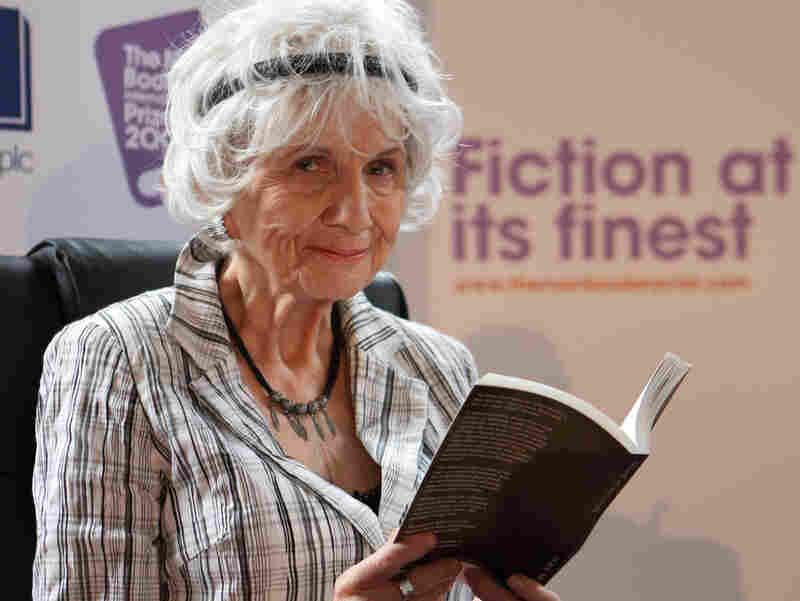 Short story author Alice Munro, seen here in Dublin in 2009, won the Nobel Prize in Literature today. Her stories often touched on a less obvious form of evil.