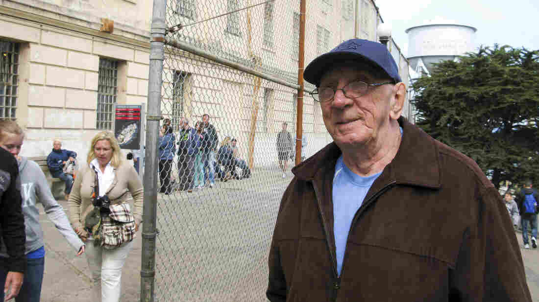 Bill Baker returned to Alcatraz for the first time since he was an inmate there more than 50 years ago.